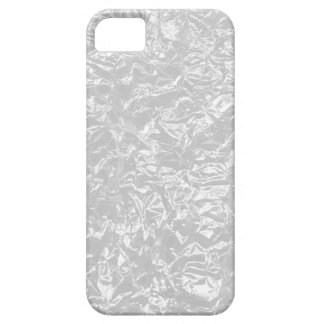 white wrinkle foil iPhone SE/5/5s case