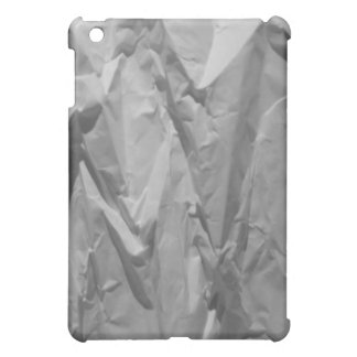 White Wrinkle Paper iPad Cover For The iPad Mini