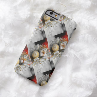 White Xmas Barely There iPhone 6 Case