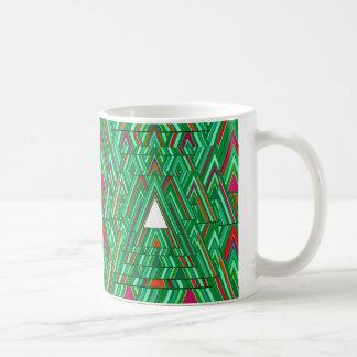 White Xmas Tree. Coffee Mug