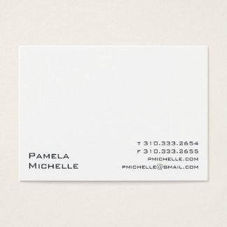 White XXIIIW Business Card
