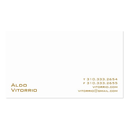 White XXV Business Card Templates