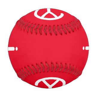 White Y? Symbol Baseball (on Red)