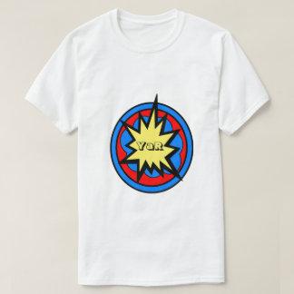 White YaR Style Comics T-Shirt