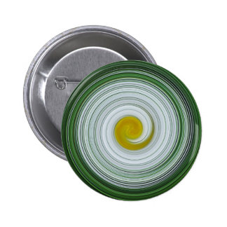 White yellow green spiral pattern buttons