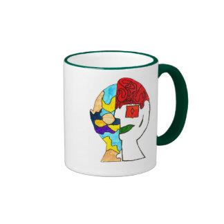 White - Zane K Ringer Mug