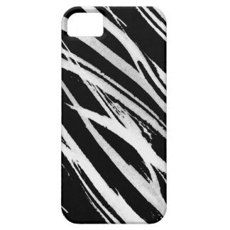 white zebra iPhone SE/5/5s case