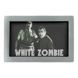 White Zombie Belt Buckle