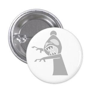 White Zombie Bishop Button