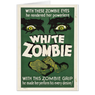 White Zombie Card