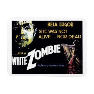 """White Zombie"" Magnet"
