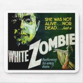 White Zombie Mouse Pad