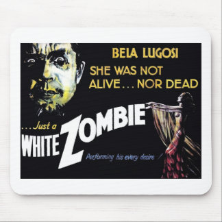 """White Zombie"" Mousepad"