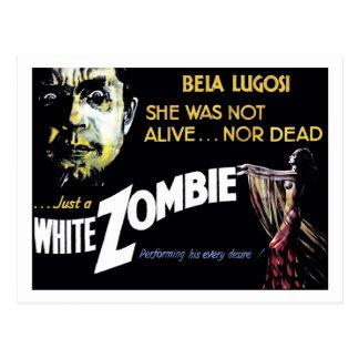 """White Zombie"" Postcard"