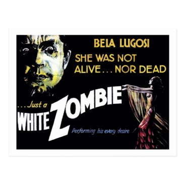 "moviebuffs ""White Zombie"" Postcard"