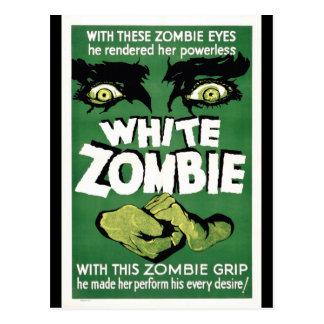 White Zombie Postcard