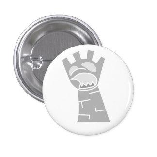 White Zombie Rook Button
