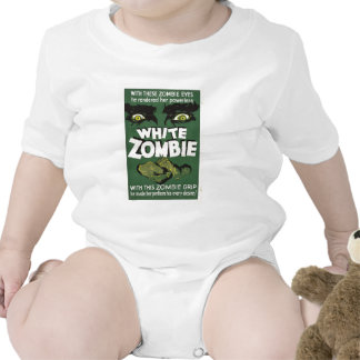 White Zombie Rompers
