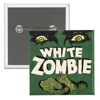 White Zombie Vintage Film Poster Buttons