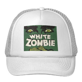 White Zombie Vintage Film Poster Mesh Hat