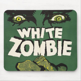 White Zombie Vintage Film Poster Mouse Pad