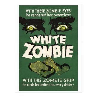 White Zombie Vintage Film Poster Postcard