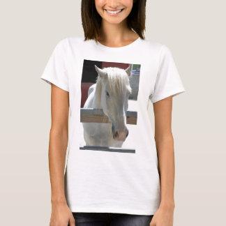 White Zoo Horse T-Shirt