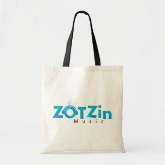White ZOTZinMusic shopping bag zazzle_bag