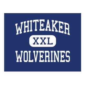 Whiteaker Wolverines Middle Keizer Oregon Postcard