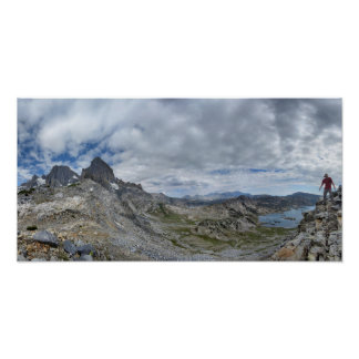 Whitebark Pass Nydiver to Garnet Lake - Sierra Poster