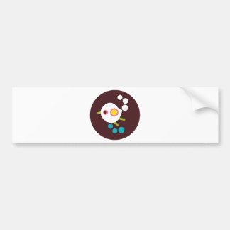 WhiteBird6 Bumper Sticker