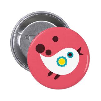 WhiteBird7 Pin Redondo De 2 Pulgadas