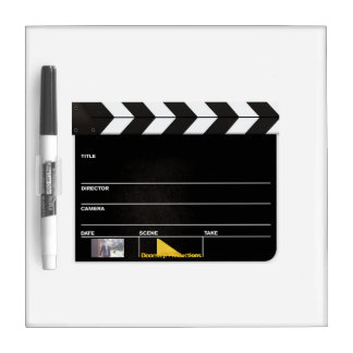 Whiteboard Clapperboard