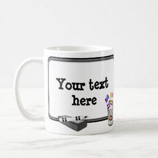 Whiteboard, Customize your text Classic White Coffee Mug