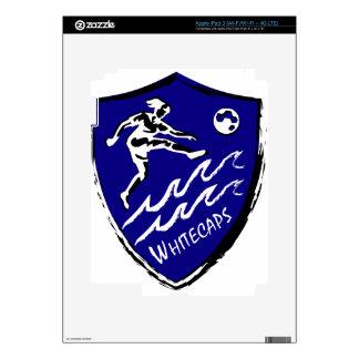 Whitecaps Women's Soccer team iPad 3 Skin