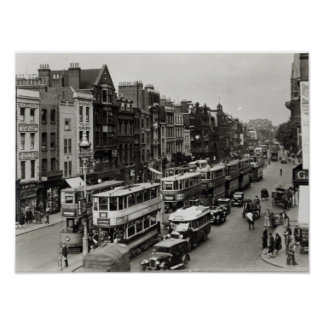 Whitechapel High Street, London, c.1930 Poster