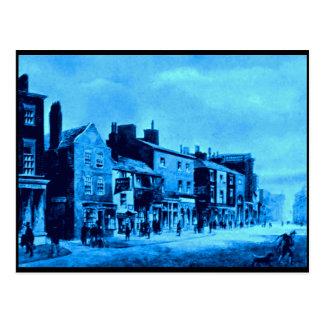 Whitechapel - lado norte, Liverpool, mediados de Tarjeta Postal