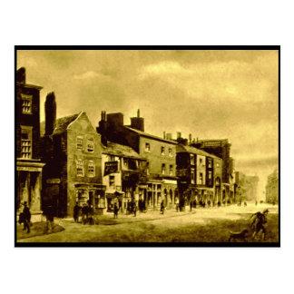 Whitechapel - lado norte, Liverpool, mediados de Tarjetas Postales