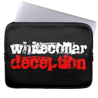 whitecollar deception computer sleeves