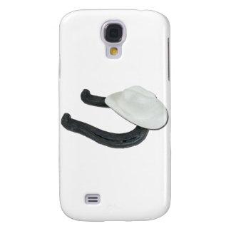 WhiteCowboyHatHorseshoe082611 Samsung Galaxy S4 Cover