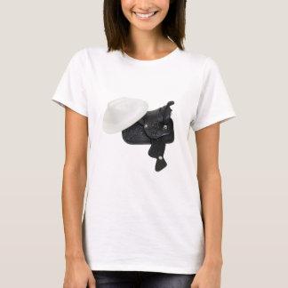 WhiteCowboyHatSaddle080509 T-Shirt