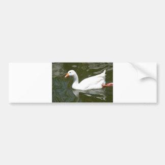 WhiteDuck bumper sticker