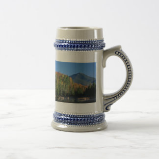 Whiteface Mountain over Little Cherrypatch Pond Beer Stein