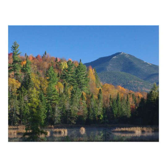 Whiteface Mountain over Little Cherrypatch Pond Flyer