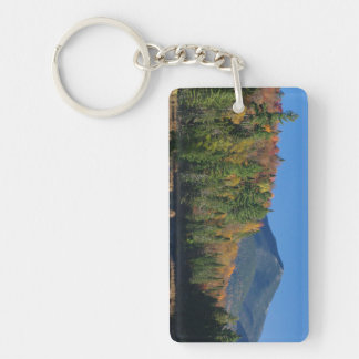 Whiteface Mountain over Little Cherrypatch Pond Acrylic Key Chains