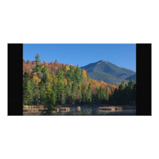 Whiteface Mountain over Little Cherrypatch Pond Custom Photo Card