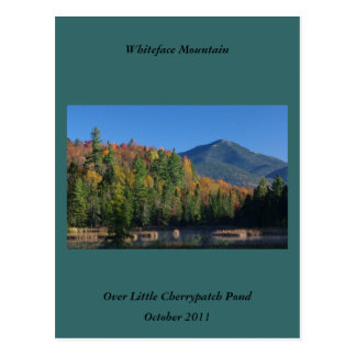 Whiteface Mountain over Little Cherrypatch Pond Postcard