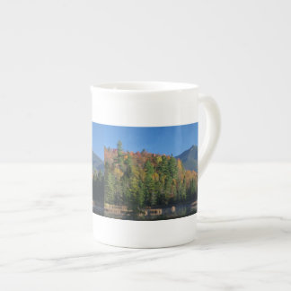 Whiteface Mountain over Little Cherrypatch Pond Bone China Mug