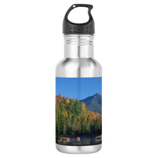 Whiteface Mountain over Little Cherrypatch Pond Stainless Steel Water Bottle