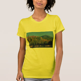 Whiteface Mountain over Little Cherrypatch Pond T Shirts